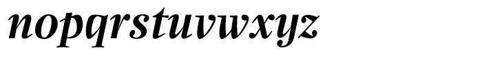 Zocalo Display Semibold Italic Font LOWERCASE