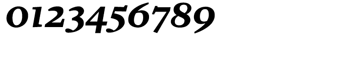 Zocalo Text Bold Italic Font OTHER CHARS