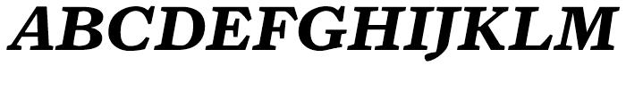 Zocalo Text Bold Italic Font UPPERCASE