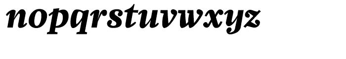 Zocalo Text Bold Italic Font LOWERCASE