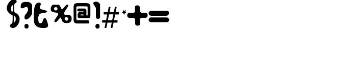 Zodillin Regular Font OTHER CHARS