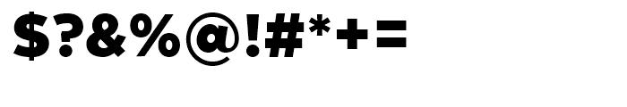 Zona Pro Black Font OTHER CHARS