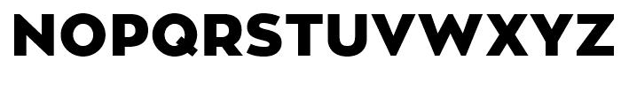 Zona Pro Black Font UPPERCASE