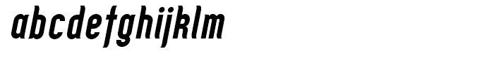Zoo 300 Bold Italic Font LOWERCASE