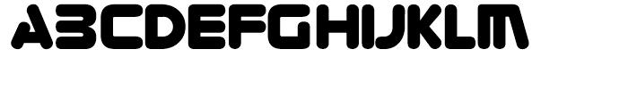 Zorque Regular Font LOWERCASE