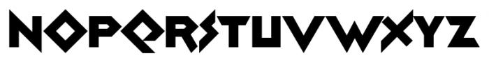 Zolasixx Regular Font UPPERCASE