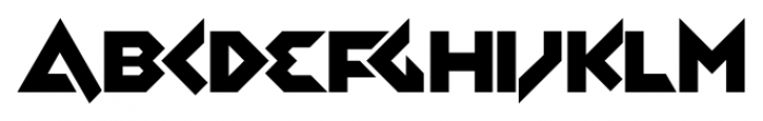 Zolasixx Regular Font LOWERCASE