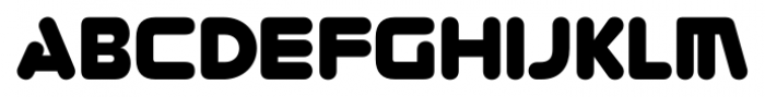 Zorque Regular Font UPPERCASE