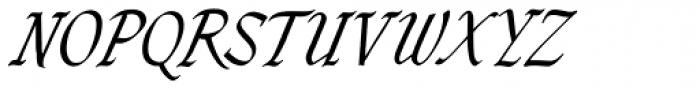 Zola D Regular Font UPPERCASE