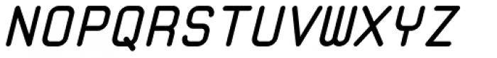 Zolan Mono BTN Bold Oblique Font UPPERCASE