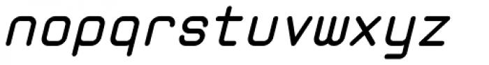 Zolan Mono BTN Bold Oblique Font LOWERCASE