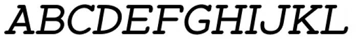 Zolano Serif BTN Bold Oblique Font UPPERCASE
