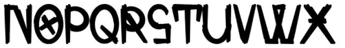 Zombie Allegiance Font LOWERCASE
