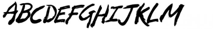 Zombie Punks Regular Font UPPERCASE