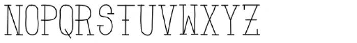 Zombie Sunrise Font UPPERCASE
