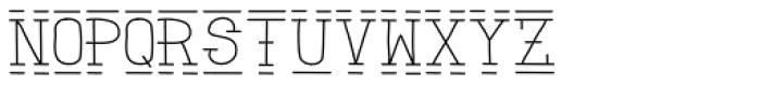 Zombie Sunrise Font LOWERCASE