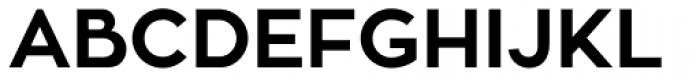Zona Pro Bold Font UPPERCASE
