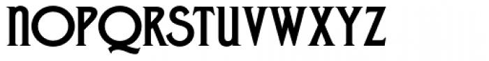 Zone Common ExtraBold Font UPPERCASE