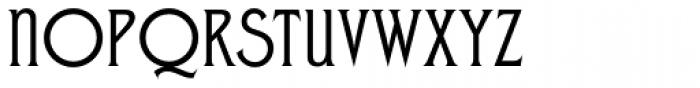 Zone Common Font UPPERCASE