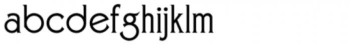 Zone Common Font LOWERCASE