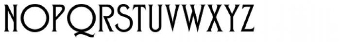 Zone Font UPPERCASE