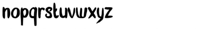 Zonnig Font LOWERCASE