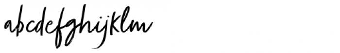 Zooja Light Font LOWERCASE