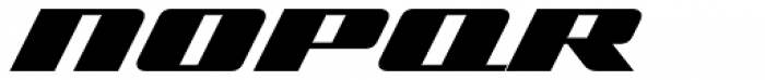Zoom 1 Font UPPERCASE