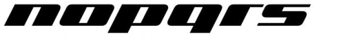 Zoom 1 Font LOWERCASE