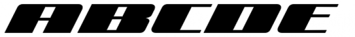 Zoom 2 Font UPPERCASE