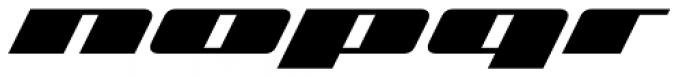 Zoom 2 Font LOWERCASE