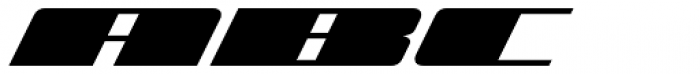 Zoom 4 Font UPPERCASE