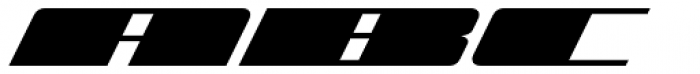 Zoom 5 Font UPPERCASE