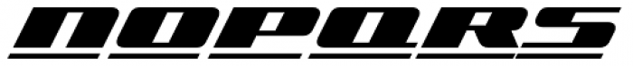 Zoom Line 1 Font UPPERCASE