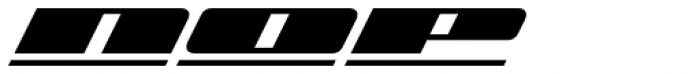 Zoom Line 3 Font UPPERCASE