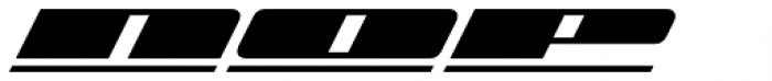 Zoom Line 4 Font UPPERCASE
