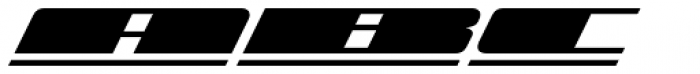 Zoom Line 5 Font UPPERCASE