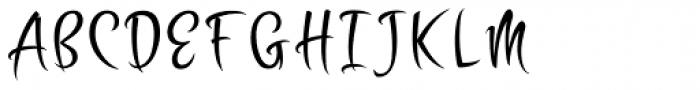 Zoomba Font UPPERCASE