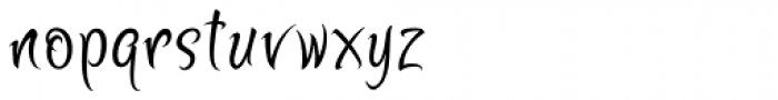 Zoomba Font LOWERCASE