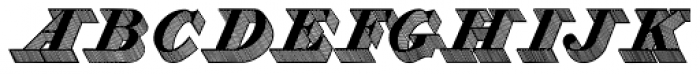 Zooth Shaded Font UPPERCASE