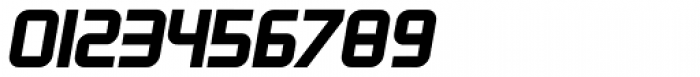 Zoria Bold Italic Font OTHER CHARS