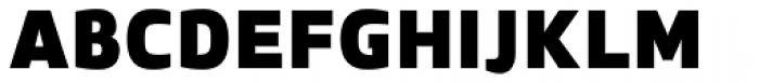 Zosimo Pro Ultra Black Font UPPERCASE