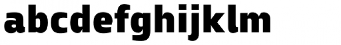 Zosimo Pro Ultra Black Font LOWERCASE
