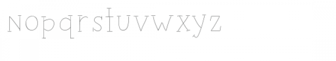 zoom sketch font Font LOWERCASE