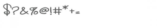 zp carolina script expanded Font OTHER CHARS