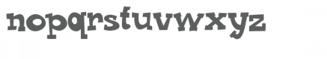 zp cowboy calvin Font LOWERCASE
