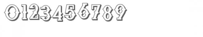 zp cowpoke croak 3d Font OTHER CHARS