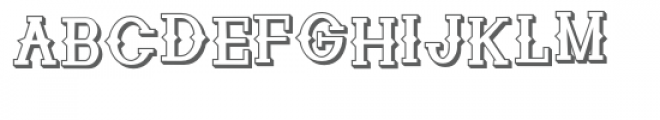 zp cowpoke croak 3d Font UPPERCASE