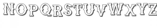 zp cowpoke croak 3d Font LOWERCASE