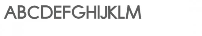 zp fluential bold Font UPPERCASE